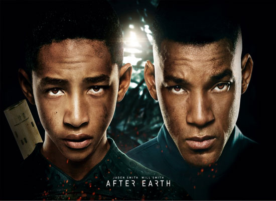 Will Smith After Earth Poster
