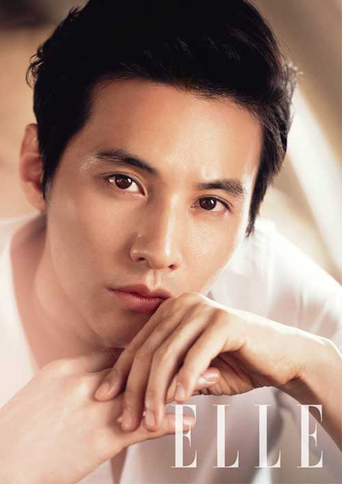 Won Bin After Eyelid Surgery