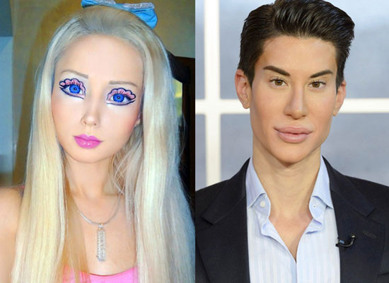 Ken Doll and Barby Doll Plastic Surgery
