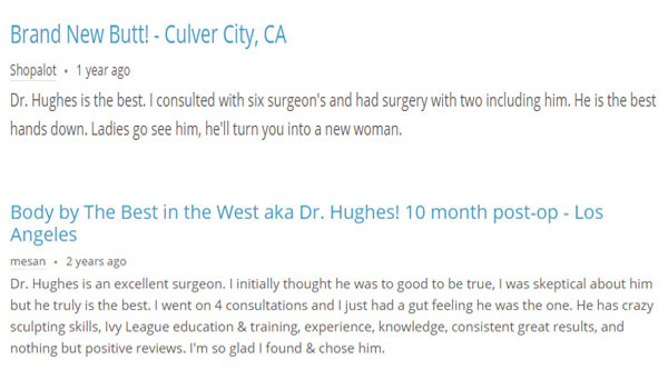 Liposuction Doctor Kenneth B. Hughes Review
