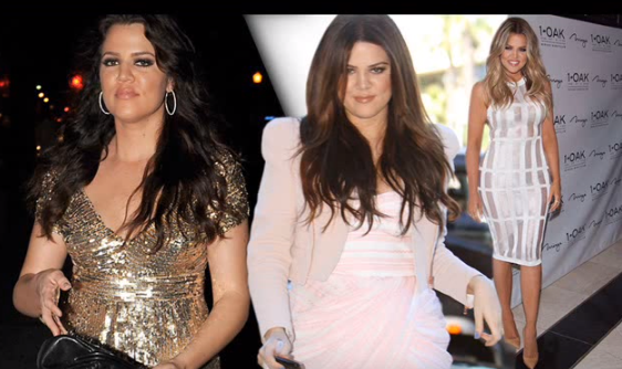 khloe kardashian Before and After Plastic Surgery