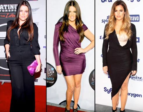 khloe kardashian Before and After Transformation